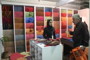 غرفه موکت رها در نمایشگاه