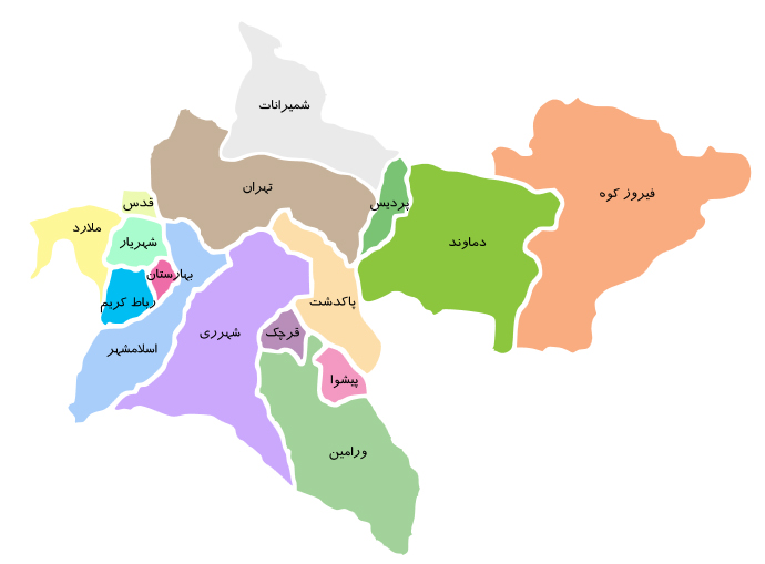 موکت تهران